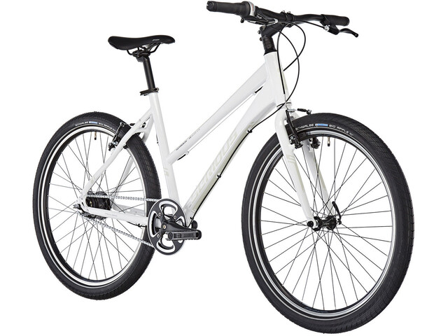Serious Unrivaled 7 Citybike hvid | City